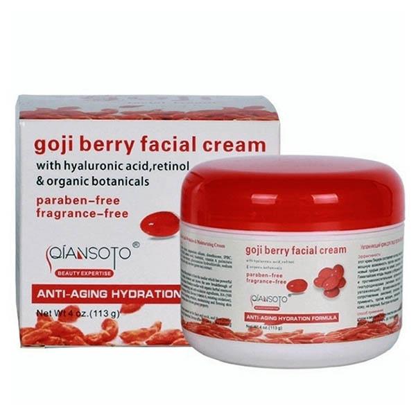 Крем для лица с экстрактом ягод годжи
