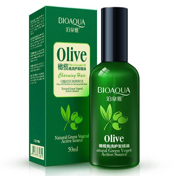 Масло для волос с экстрактом оливы