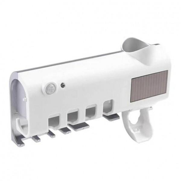 Контейнер для зубных щёток и пасты с УФ