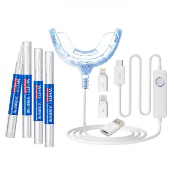 Система отбеливания зубов для смартфонов